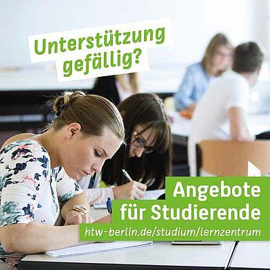 Angebote des Lernzentrums für Studierende
