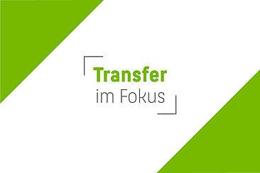 "Wort-Bild-Marke ""Transfer im Fokus"""