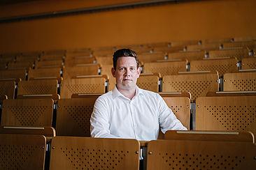 Jürgen Radel im Audimax