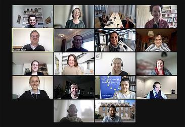 Die Teilnehmenden des Jahrestreffens von Metropolia University und HTW Berlin © HTW Berlin